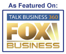 As Featured on Talk Business 360 Fox Business